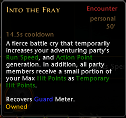 Into the Fray