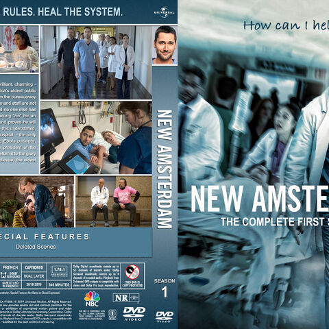 Season One DVD cover