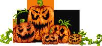 Oh so scary pumpkins by uszatyarbuz-daihesy