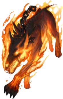 Generic Hellhound -Eberron- Root of all Evil-