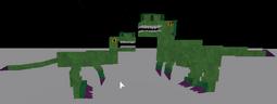 Verdant Venomtail Raptor (M and F)