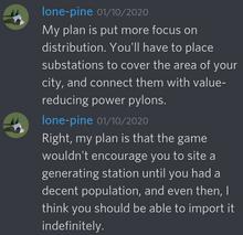 Lone-pine power