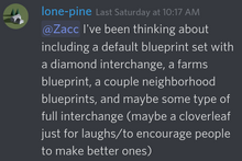 Lone-pine default blueprints