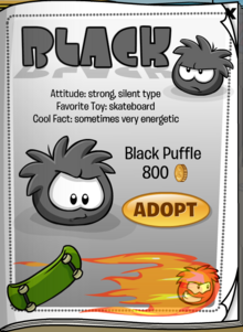 Black Puffle