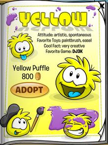 Yellow Puffle