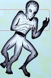 File:Tripodal alien, John A Short in Alien Encounters, August 1997.jpg