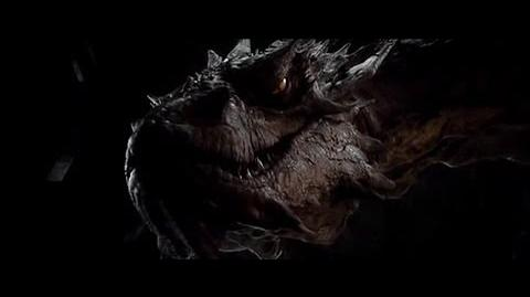 Smaug and Bilbo Scene - Hobbit Desolation of Smaug