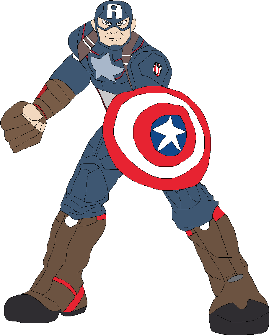 Captain America (Super Smash Bros  Ultimate RP Reboot) | New