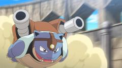 Siebold Mega Blastoise Skull Bash