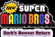 New Super Mario Bros. Dark's Bowser Return Logo Nuevo