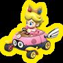 Bebé Peach MK8