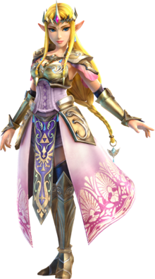 Hyrule Warriors Zelda Artwork