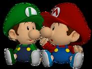 Bebés Mario y Luigi