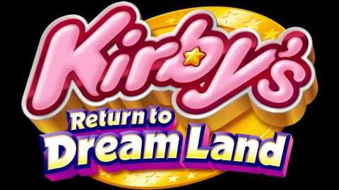 Title Screen Cookie Country - Map - Kirby's Return to Dream Land Music Extended