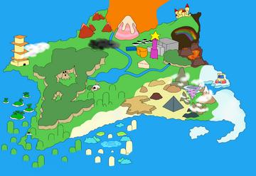 DreamLand Mapa sin texto