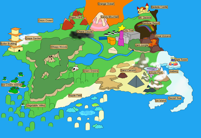 DreamLand Mapa DH