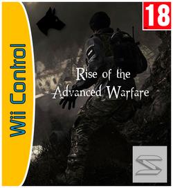 Rise of the Advanced Warfare Carátula Wii Control