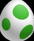 Art Oficial de un Huevo de Yoshi en New Super Mario Bros. U