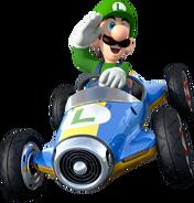Luigi Artwork Mario Kart 8