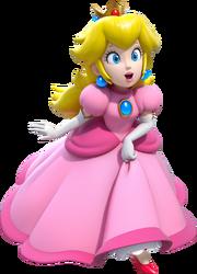 Princess Peach Artwork - Super Mario 3D World