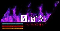 LifeBar con fuego violeta