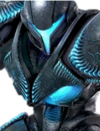Dark Samus Portrait