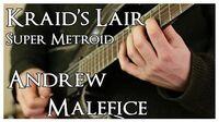 Super Metroid - Kraid's Lair Metal Cover - Andrew Malefice