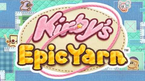 Flower Fields - Kirby's Epic Yarn