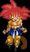 Goku GT SSJ Red