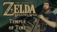 Zelda- BotW - 'Temple of Time' (Electric Ambient Cover)