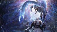 MHW- Iceborne OST -Disc 1- - The Scorching Blade - Glavenus- World Version