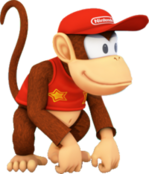 200px-MPSR Artwork - Diddy Kong
