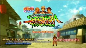 Title Screen Soundtrack Naruto Shippuden Ultimate Ninja Storm Revolution OST 1