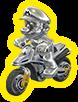 Mario de metal MK8