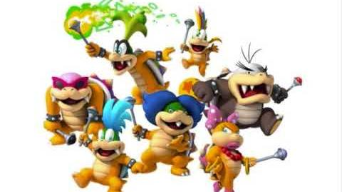 New Super Mario Bros Wii- Koopalings Battle Music
