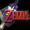 The Legend of Zelda Ocarina of Time Logo