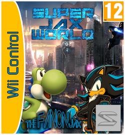 Super Jax World Carátula Wii Control By Silver