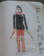 Flame Fall V1