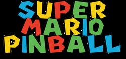 Super Mario Pinball Logo