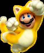 Cat Mario Artwork - Super Mario 3D World
