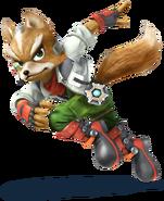 Fox - Super Smash Bros 3DSWiiU