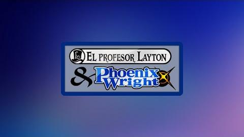 El Profesor Layton & Phoenix Wright Teaser Trailer