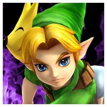 Young Link SSBD