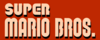 Super Mario Bros logo NES