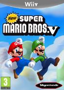 New Super Mario Bros. V Carátula By Silver & Company
