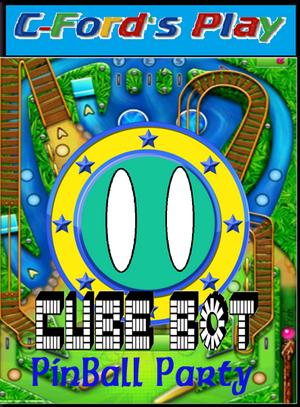 Cube Bot Pinball Party