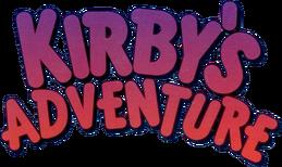 Kirby Adventure Logo