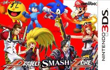 Project smash zone for 3ds cover reupload by thegamerlover-d8ku88c