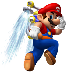 558px-Mario and Hover Nozzle SMS