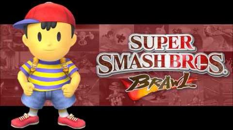 Super Smash Bros Brawl -Onett - (HD)
